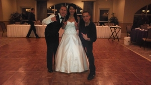 mesa verde country club wedding DJ bride and groom with DJMC IAN B