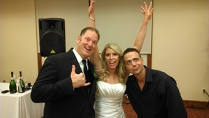 orange county wedding dj djmc ian b couple and me