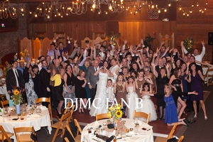 Inland Empire wedding DJ group photo