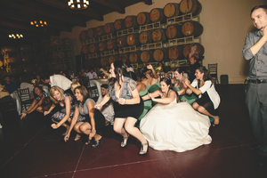 Inland Empire Wedding DJ Ponte Winery Temecula CA Crowd Dancing