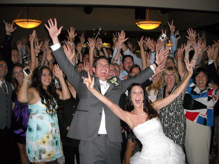 Orange County Wedding DJ San Juan Hills Golf Club Group Photo